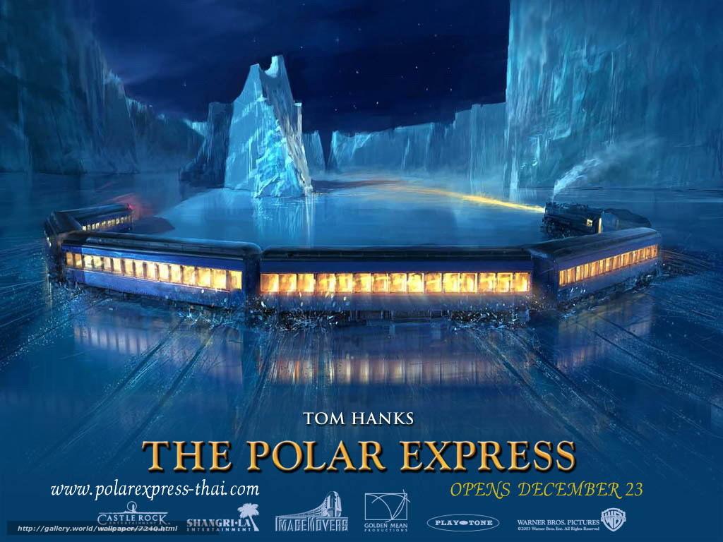 download wallpaper polar express the polar express film