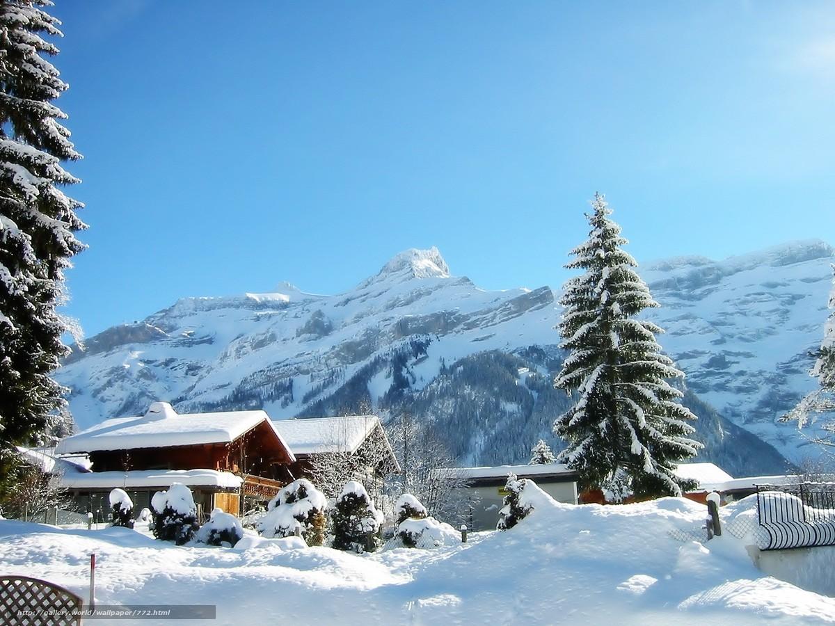 Scaricare gli sfondi inverno casa sfondi gratis per la for Sfondi gratis desktop inverno