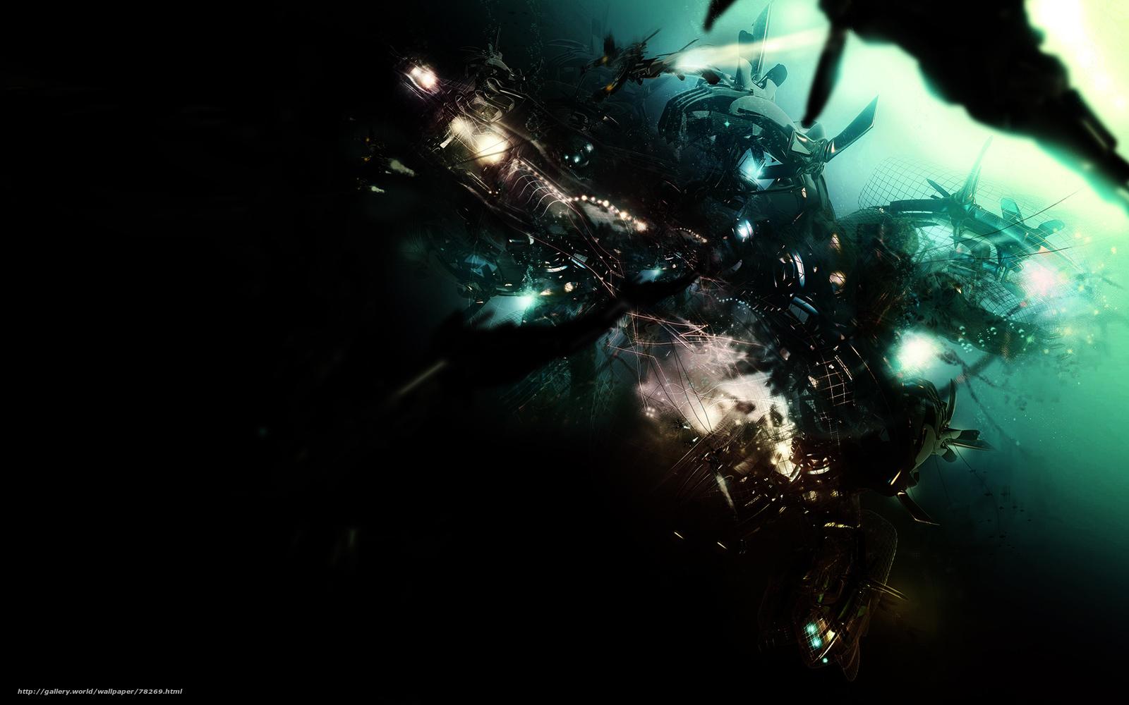 Tlcharger fond d 39 ecran abstraction sombre couleur for Fond ecran sombre