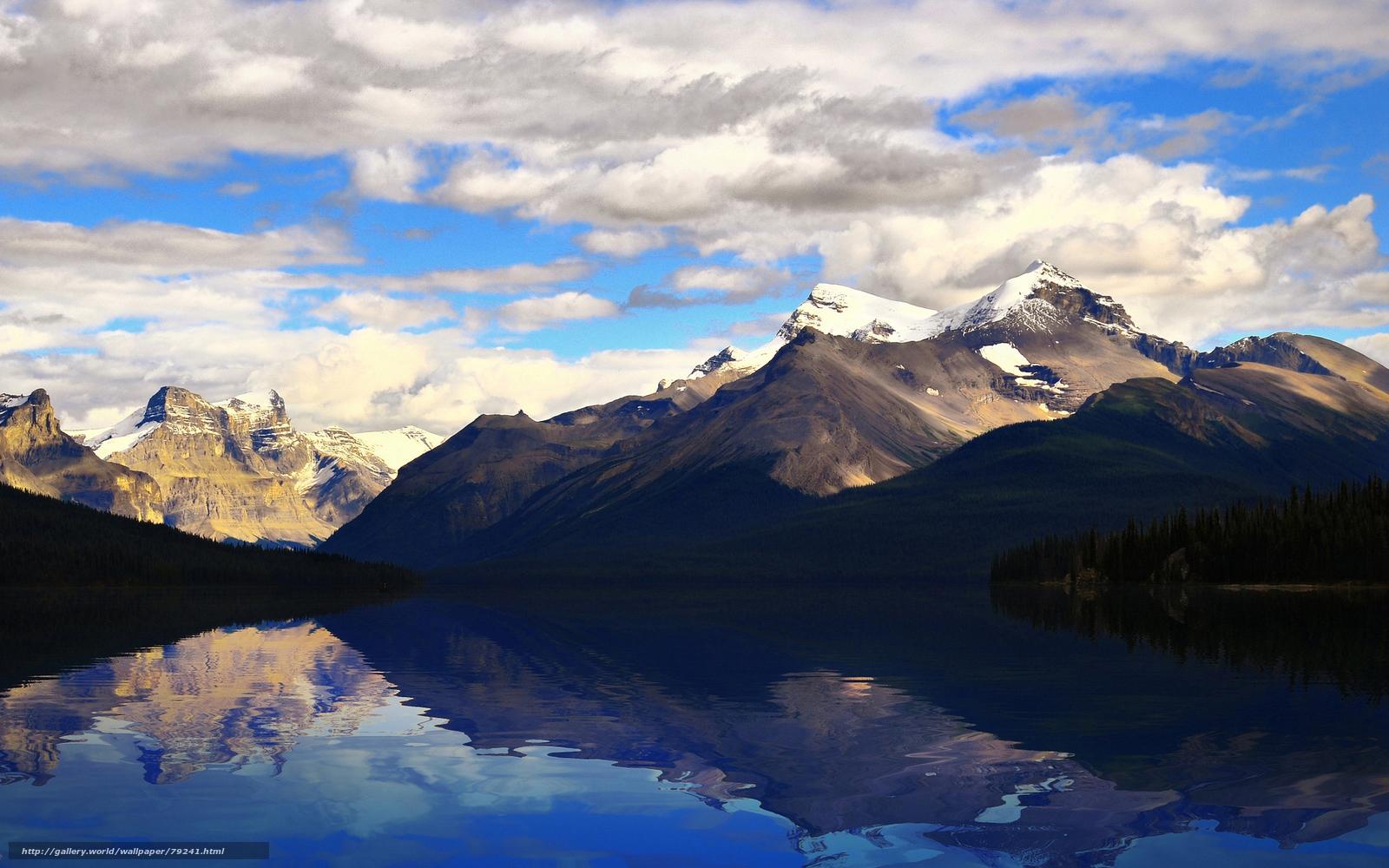 Descargar gratis paisajes papel pintado montaas agua - Papel pintado paisaje ...