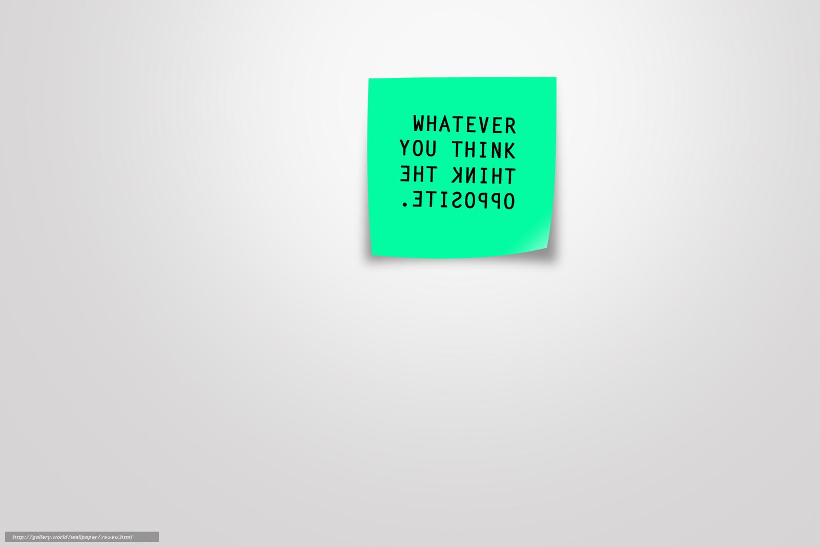 Скачать обои минимализм, креатив ...