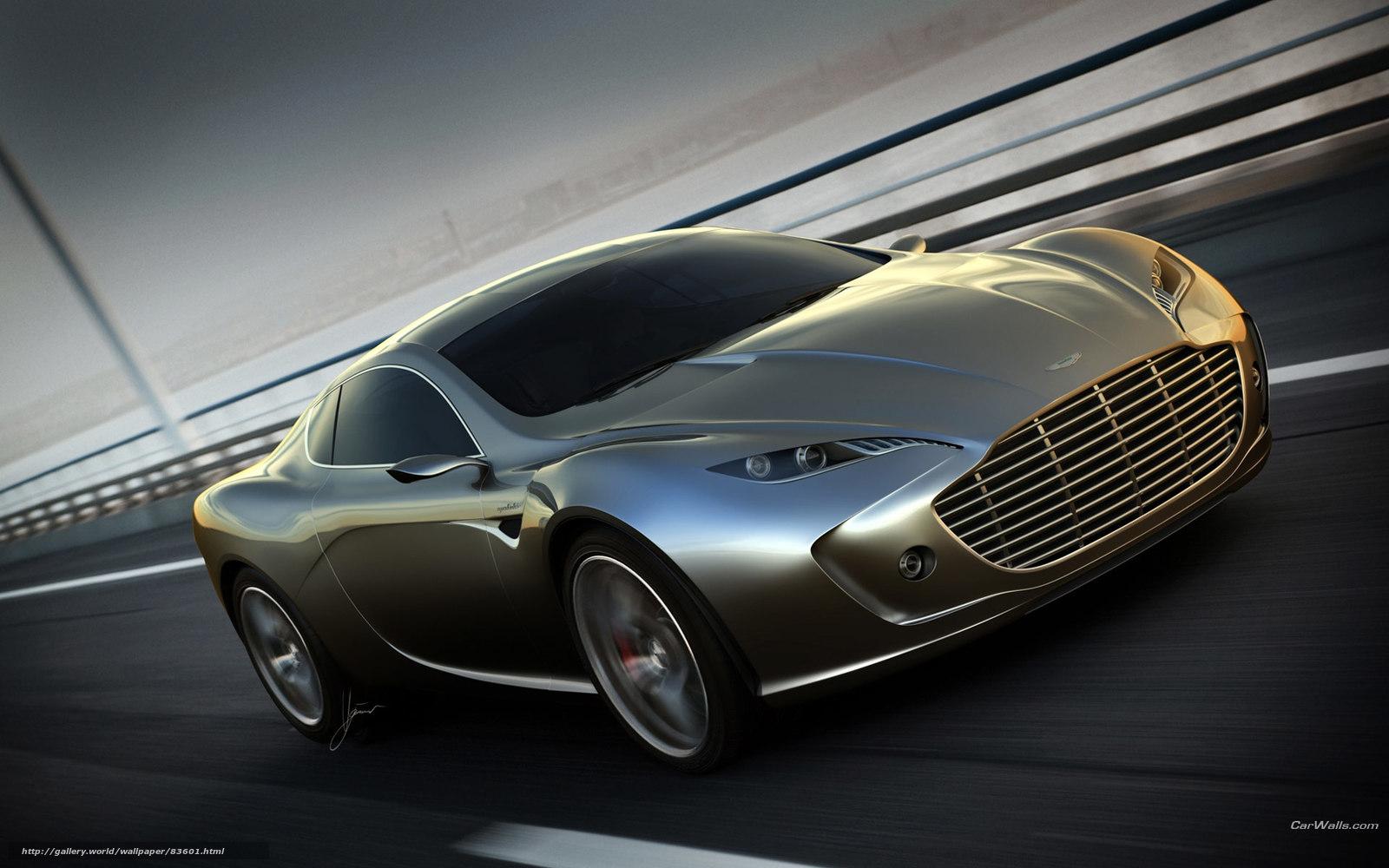 Route Occasion Fond Ecran Aston Martin