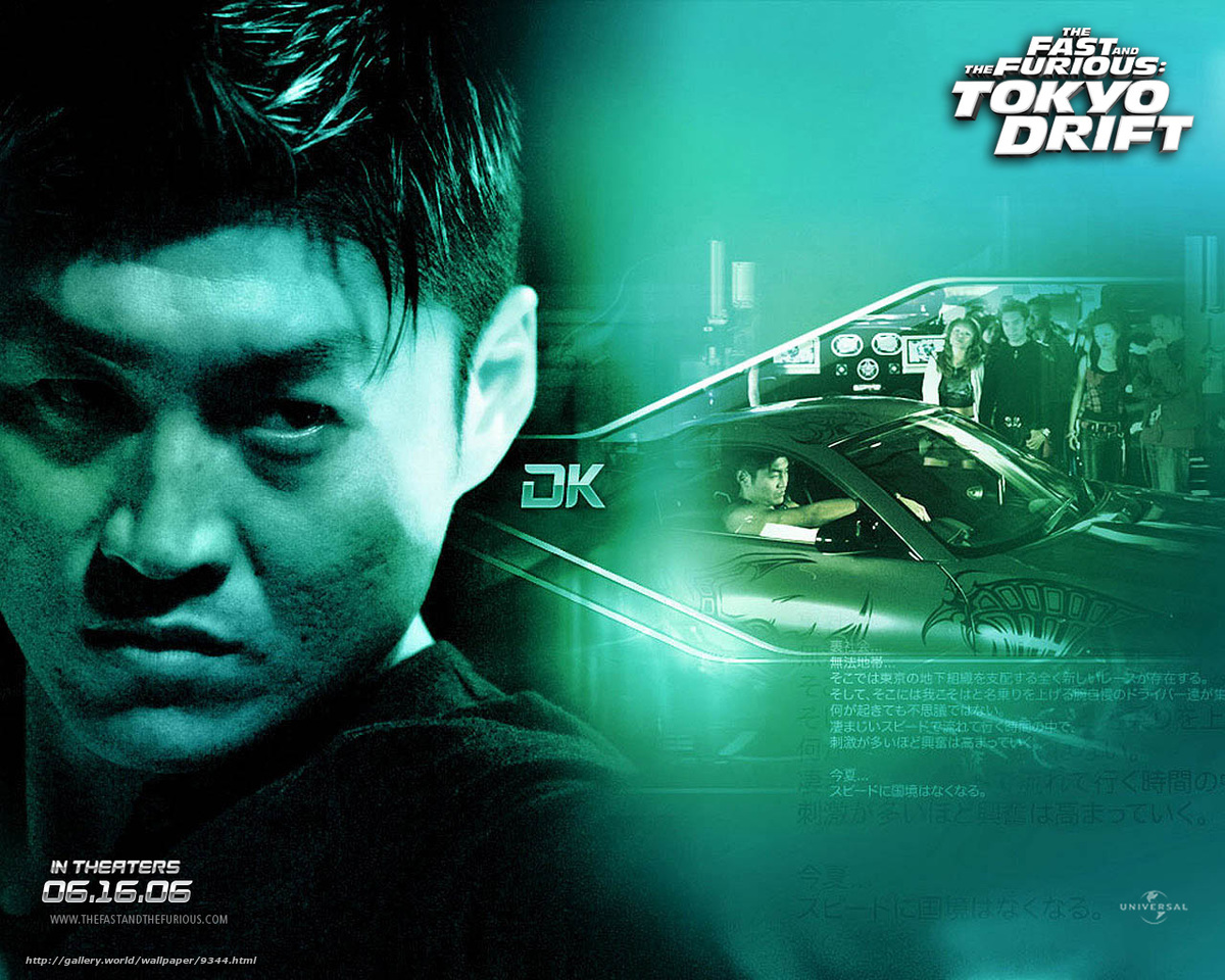 Download wallpaper Fast and the Furious: Tokyo Drift, The ...