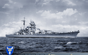 bismarck, Bismarck, statek, okrt wojenny, Niemiecki pancernik Navy