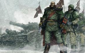 La Guardia Imperial, Seor General, tanque, Vengar la espada