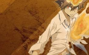 teacher-Mafia Reborn, Sawada tsunaeshi, tenth boss vongole