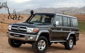 Toyota, Land, Cruiser, Land Cruiser, SUV, car, wallpaper, Japan, toyota