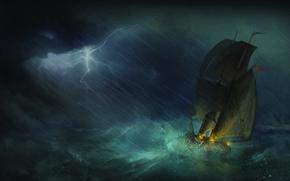 картинки  дракон морей гроза