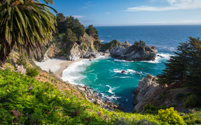 Big Sur, McWay Falls, United States, California