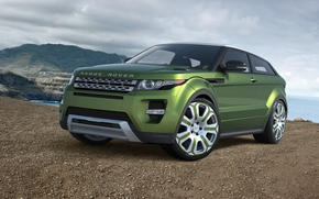 Ewok, GREEN, Range Rover, Land Rover, Car, machine