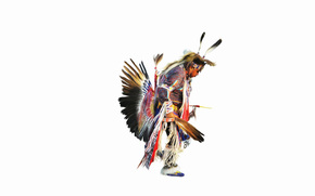 Injun, plumage, dance