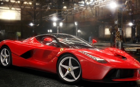The Crew, games, ferrari laferrari, Ferrari