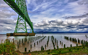 Astoria pont, Columbia River, Oregon