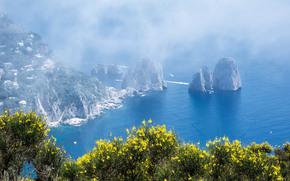 Mount Solaro, Isle of Capri, Italia