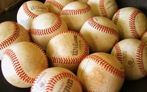 Спорт: мячи, бейсбол