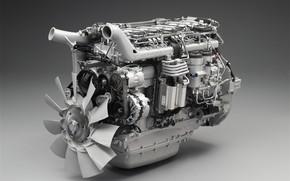 Машины: двигатель, сканиа, крыльчатка