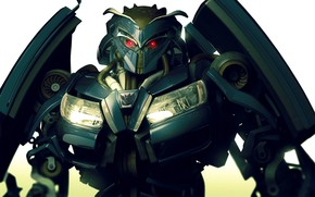Hi-tech: трансформер, робот, машина