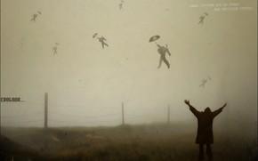 Настроения: свобода, смысл, утрата, полет, бред, туман, зонтик
