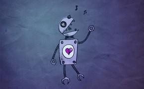 Hi-tech: любовь, робот, сердце