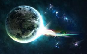 Космос: планета, энергия, звезды