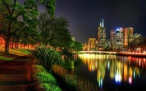 Город: страны, ночь, сьемка, фотосьемка, река