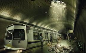 Ситуации: метро, испуг, фантазия