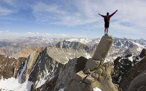 Настроения: свобода, вершина, достижение, горы, скалолазание