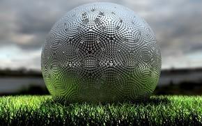 Спорт: мяч, поле, трава
