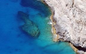 Природа: пейзаж, волны, море, скала