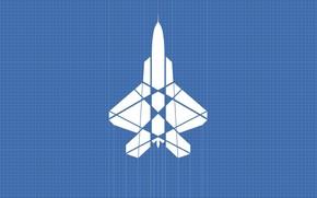 Авиация: самолет, лист в клетку, линии, сетка, разметка, работа, инженеринг