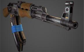 Оружие: автомат калашникова, автомат, калашников, оружие, обои