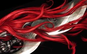 Игры: меч, волосы