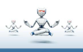Hi-tech: роботы, минимализм, медитация