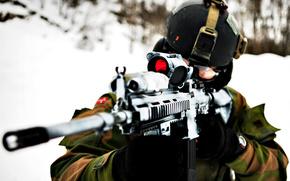 Оружие: Оружие, солдат