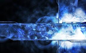 Абстракция: абстракция, интерфейс, дизайн, синяя фигня