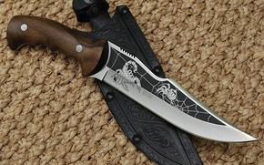 Оружие: холодное оружие, нож, россия, чехол, скорпион, паук