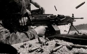 Оружие: Пулемет, оружие