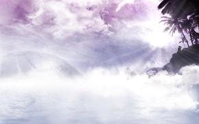 Разное: обалка, солнце, лучи, розовая фигня, туман, мечты