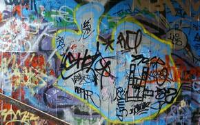 Текстуры: фон, краски, стены, граффити, несуразица