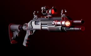 Оружие: дробовик, оружие, weapon