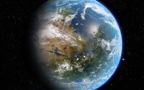Космос: марс, планета, звезды, океан, атмосфера, жизнь