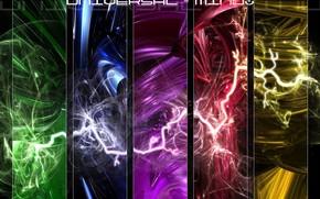 Рендеринг: молнии, стихии, молния, стихия, универсальное мышление, вселенская, мысль, вселенная, стиль, яркий