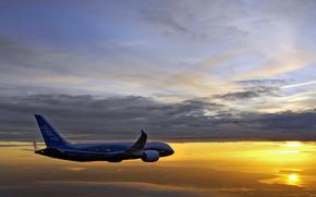 boeing 787-8 drimeliner,  continues,  flight testing обои, фото