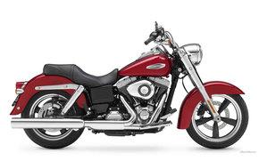 Мотоциклы: Harley-Davidson, Dyna, Dyna FLD Switchback, Dyna FLD Switchback 2012, мото, мотоциклы, moto, motorcycle, motorbike