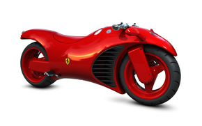 ���������: ferrari, bike, concept, motorcycle