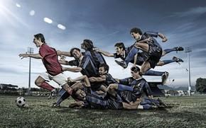 Спорт: мяч, футбол, поле