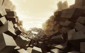Рендеринг: стиль, кубы, абстракции, фантазия