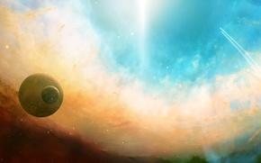 Космос: небо, планеты, графика