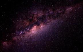 Космос: млечьный путь, звезды, галактики, ночьное небо