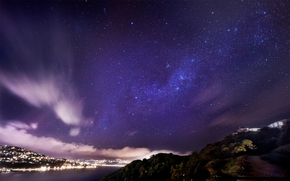 Космос: небо, город, звезды